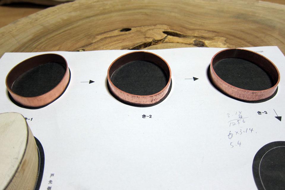 銅月引手制作行程3